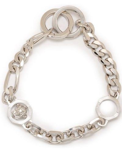 Брелок серебряного цвета Versace
