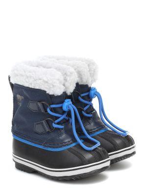 Niebieski nylon buty Sorel Kids