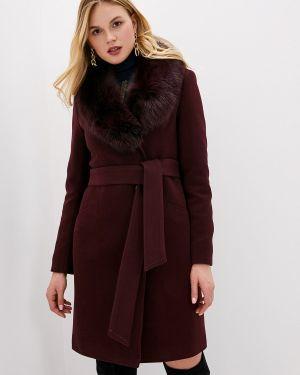 Зимнее пальто бордовый пальто Giulia Rosetti