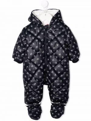 Piżama z długimi rękawami - czarna Fay Kids