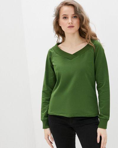 Зеленый свитшот D.s