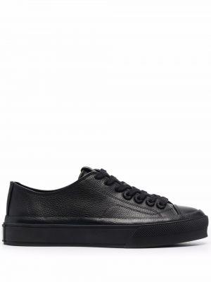 Buty sportowe skorzane - czarne Givenchy