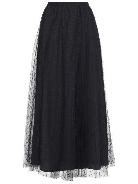 Черная юбка осенняя Red Valentino