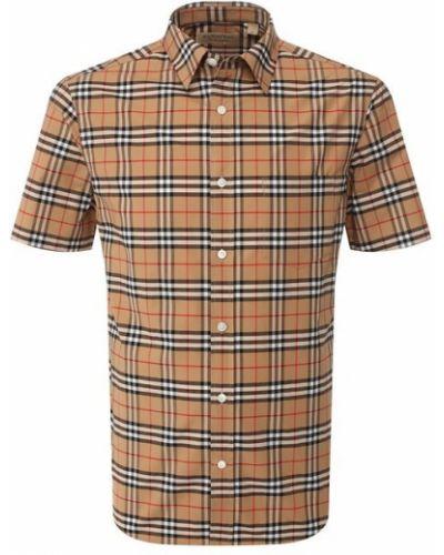 Рубашка стрейч хлопковая Burberry