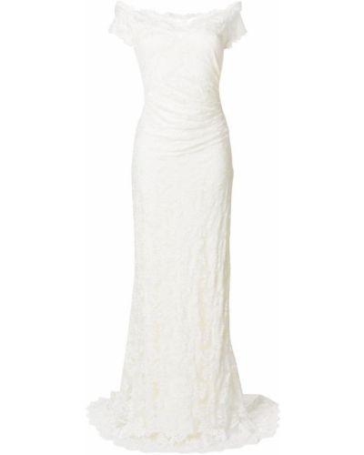 Бежевое свадебное платье Olvi´s