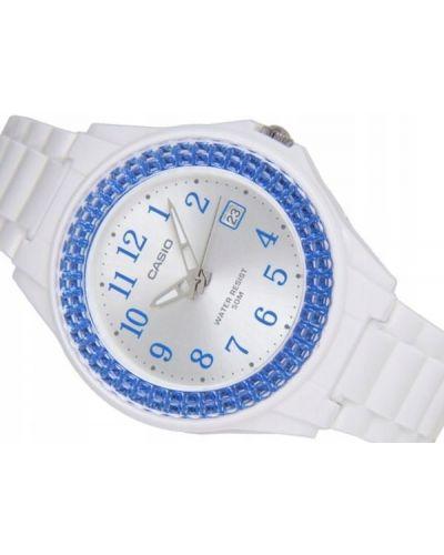 Biały sport zegarek sportowy Casio