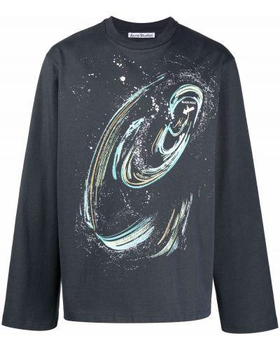 T-shirt z printem Acne Studios