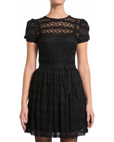 Черное платье осеннее Red Valentino