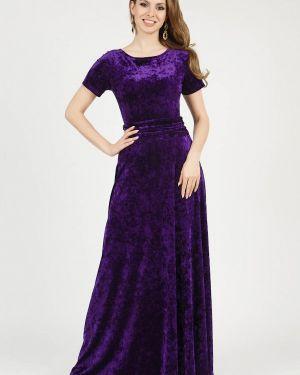 Вечернее платье осеннее фиолетовый Olivegrey