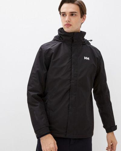 Черная зимняя куртка Helly Hansen