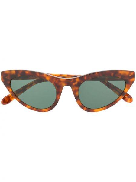 Прямые муслиновые солнцезащитные очки хаки Han Kjøbenhavn