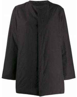 Черная нейлоновая куртка двусторонняя Plantation
