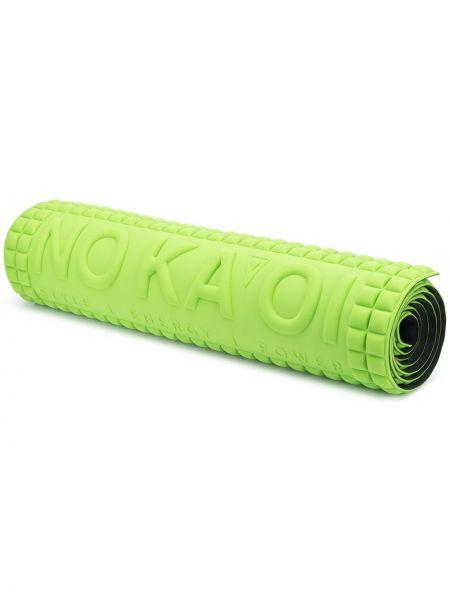 Нейлоновый зеленый спортивный костюм для йоги прямоугольный No Ka 'oi