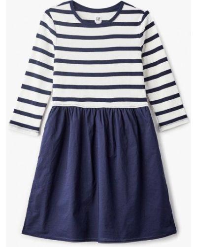 Платье повседневное синий Gap