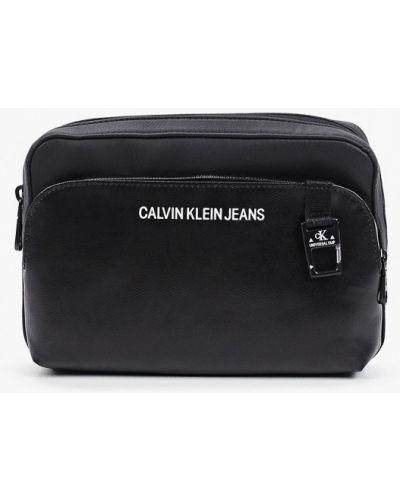 Черная джинсовая сумка Calvin Klein Jeans