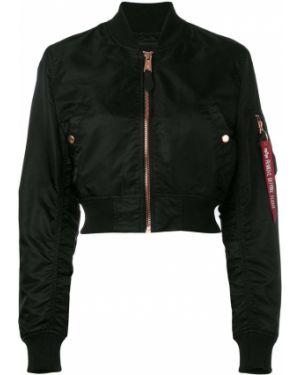 Куртка черная укороченная Alpha Industries