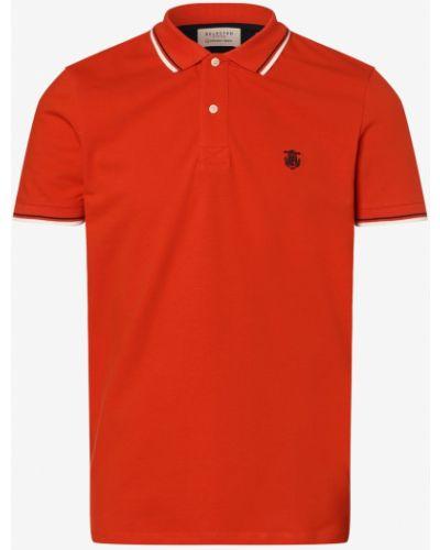 T-shirt - pomarańczowa Selected