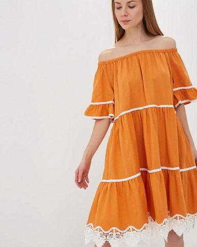 Платье - оранжевое L1ft