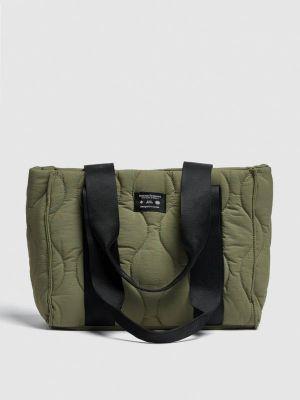 Зеленая зимняя сумка Pull&bear