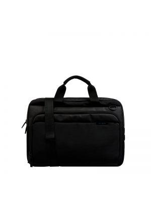 Z paskiem czarny torba kosmetyczna z zamkiem błyskawicznym Samsonite