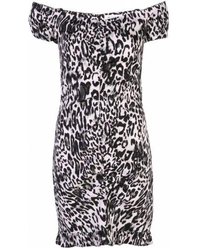 Платье леопардовое приталенное Milly
