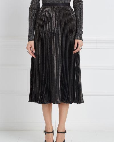 Плиссированная юбка миди с поясом Diane Von Furstenberg