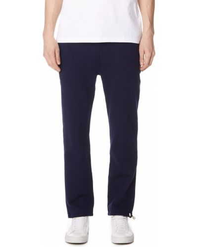 Bawełna klasyczne spodnie z kieszeniami z mankietami z haftem Polo Ralph Lauren