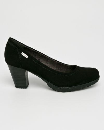 Туфли на каблуке черные Jana