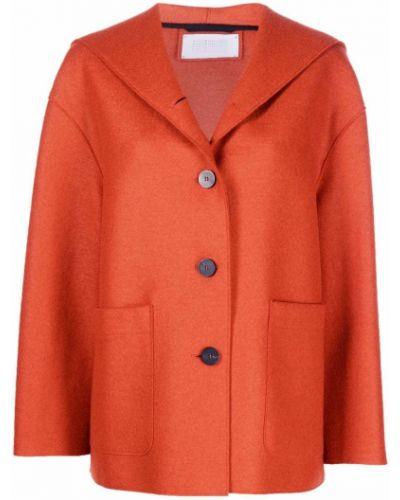 Оранжевая куртка с карманами Harris Wharf London