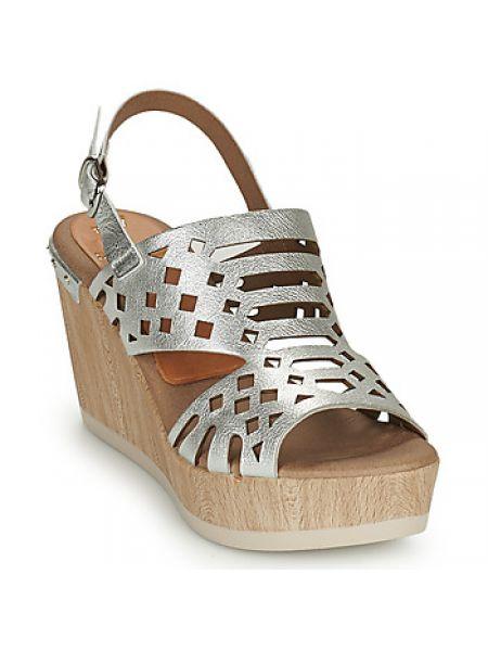 Sandały srebrne Dorking