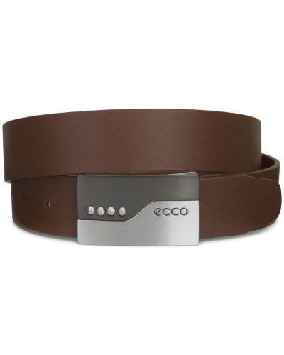 Ремень коричневый винтажный Ecco