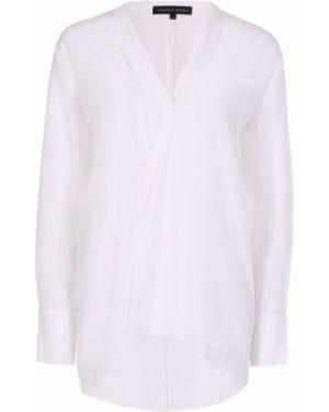 Шелковая блузка - белая Alexander Terekhov