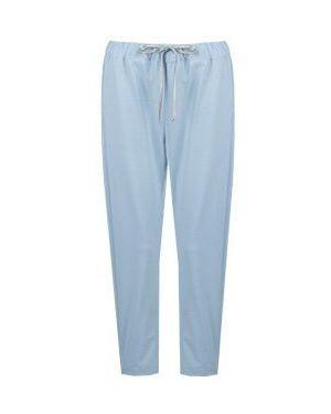 Укороченные брюки фиолетовые Semicouture