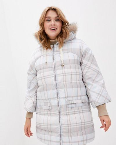 Бежевая зимняя куртка Baon