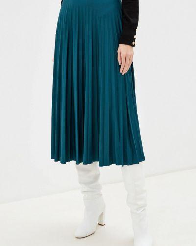 Плиссированная юбка бирюзовый Dorothy Perkins