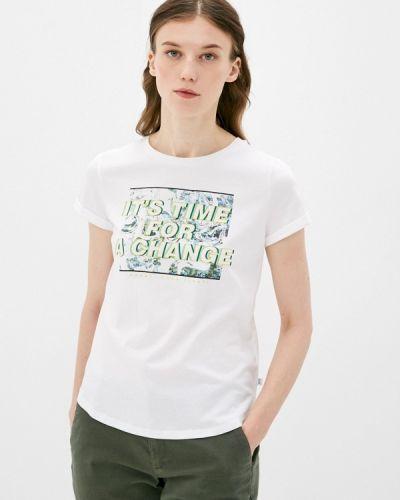 Белая футболка с короткими рукавами Q/s Designed By