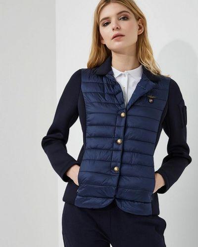 Утепленная куртка весенняя синий Aeronautica Militare