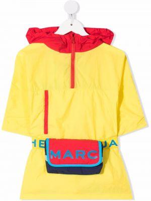 Żółty klasyczny płaszcz The Marc Jacobs Kids