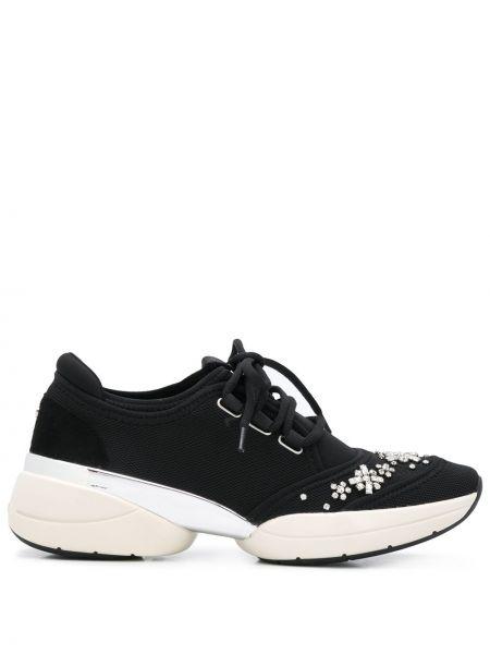 Sneakersy zasznurować czarne Carvela