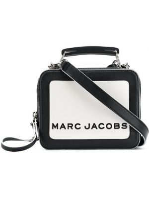 Кожаная сумка через плечо - белая Marc Jacobs