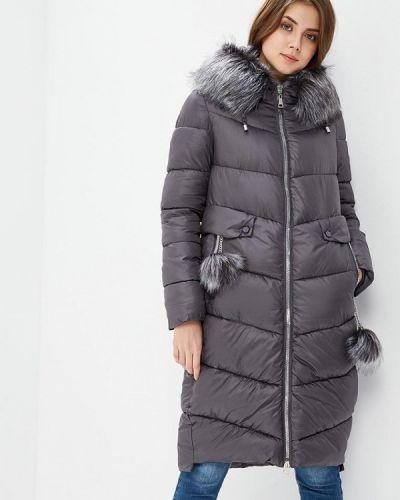 Утепленная куртка весенняя серая Tantra