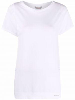 Зауженная спортивная прямая футболка с вырезом Falke