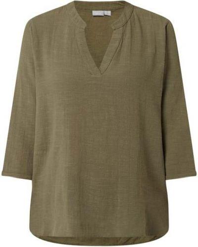 Zielona bluzka rozkloszowana Fransa