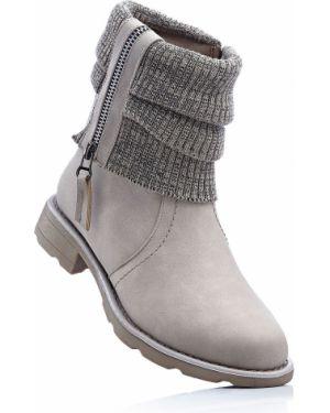Коричневые ботинки Bonprix
