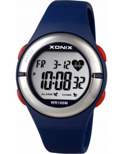 Zegarek sportowy granatowy silikon Xonix
