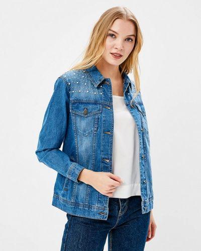 Синяя джинсовая куртка Noisy May