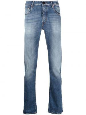 Klasyczne niebieskie jeansy bawełniane Hand Picked
