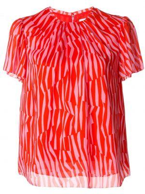 Шелковая блузка - красная Ck Calvin Klein
