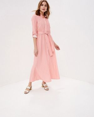 Платье розовое платье-рубашка Gold Chic Chili