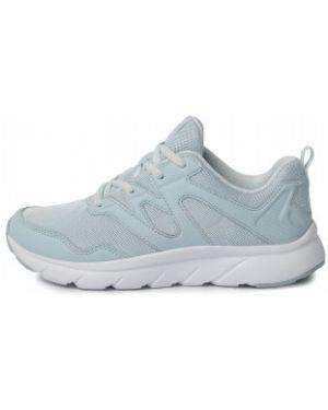 Кожаные спортивные кроссовки для бега на шнуровке Demix